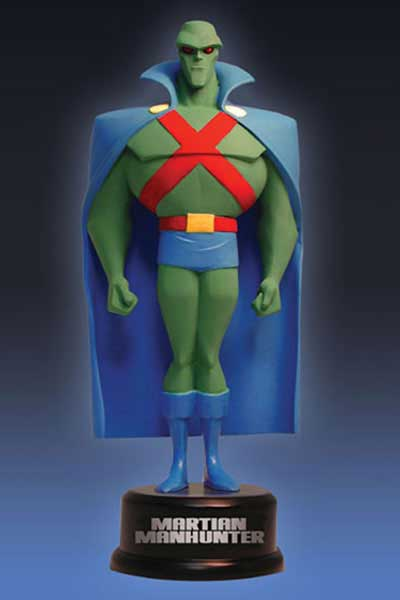 Image: Justice League Animated Mini-Maquette: Martian Manhunter  -