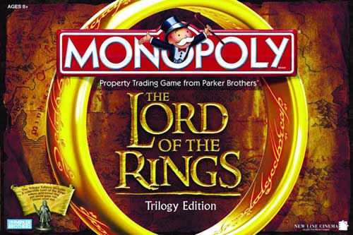 Image: Lord of the Rings Monopoly Trilogy Edition  -