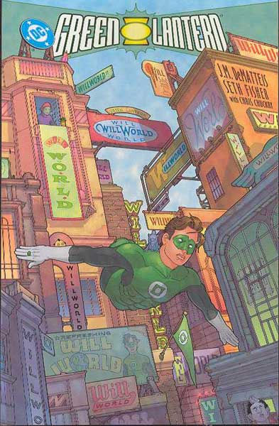 Image: Green Lantern: Willworld SC  - DC Comics