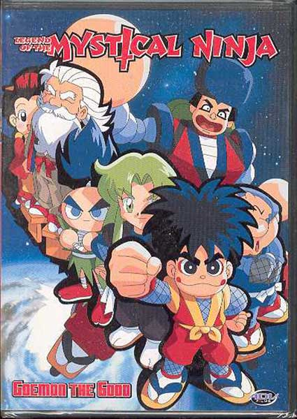 Image: Legend of the Mystical Ninja Vol. 01: Goemon the Good DVD  -