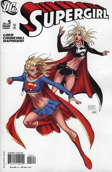 Image: Supergirl #5 (all Turner 2nd printing) - DC Comics