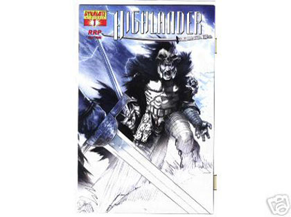 Image: Highlander Otto #1 (RRP Cover incentive) - D. E./Dynamite Entertainment
