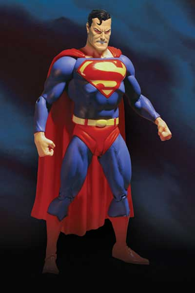 Image: Justice League  (Alex Ross) Action Figure: Variant Superman - Angry Eyes - DC Comics