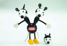 Image: Quimby the Mouse Wooden Toy  -