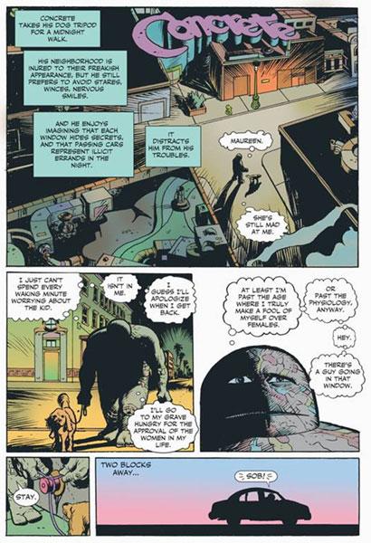 Dark Horse Presents #1 (Frank Miller cover) - Dark Horse