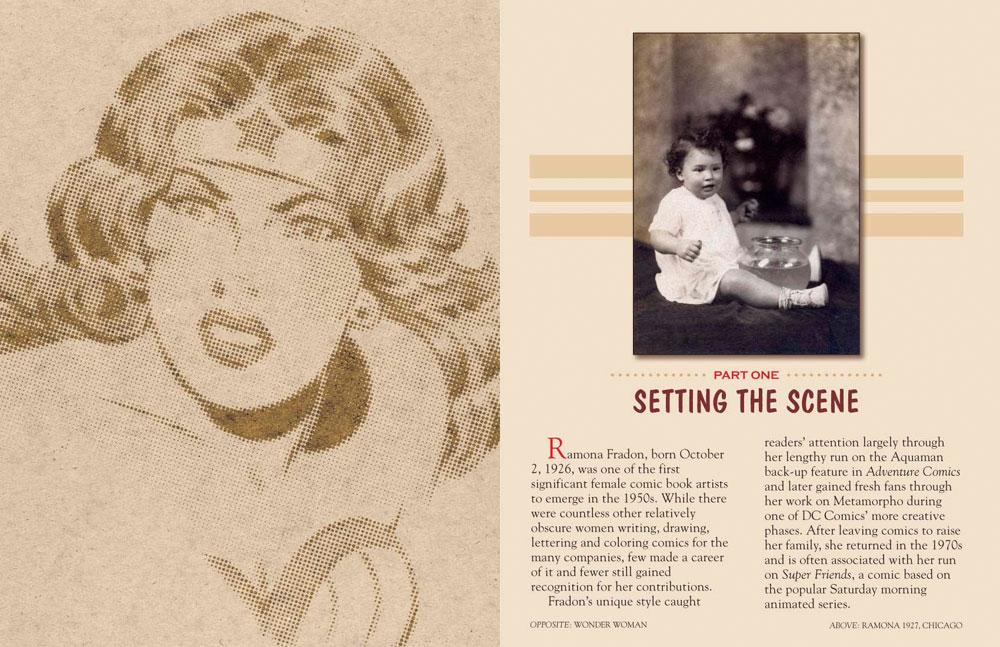 Art of Ramona Fradon HC  - D. E./Dynamite Entertainment