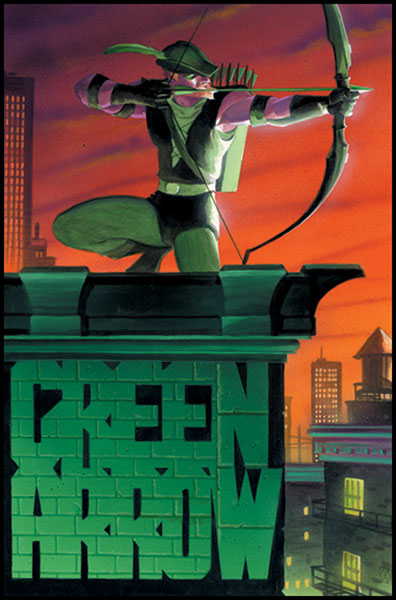 Image: Green Arrow #11 (Vol. 2) - DC Comics