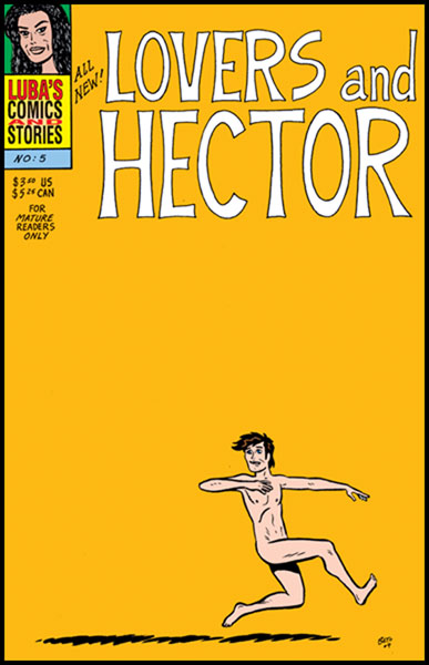 Image: Luba's Comics and Stories #5 - Fantagraphics Books