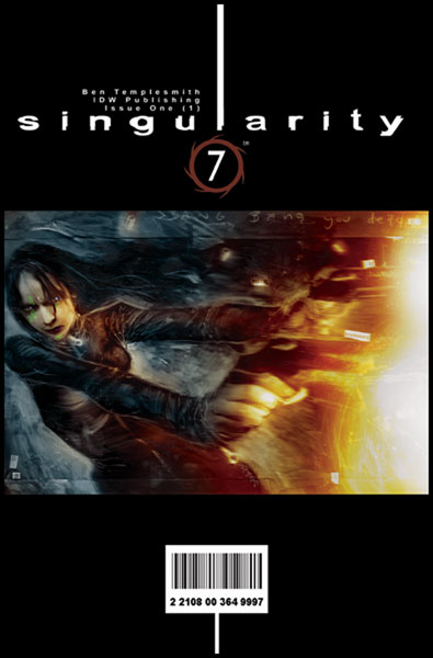 Image: Singularity Seven #1 - IDW Publishing
