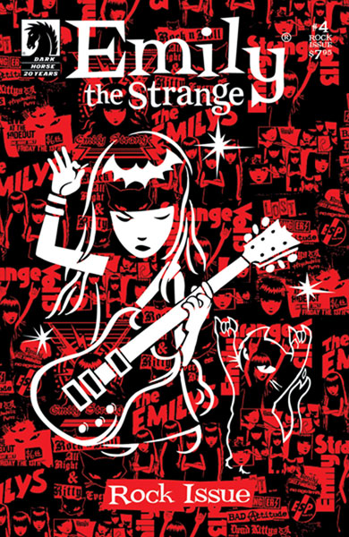 Image: Emily the Strange: The Rock Issue #4 - Dark Horse Comics