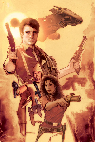 Image: Serenity: Those Left Behind HC  - Dark Horse