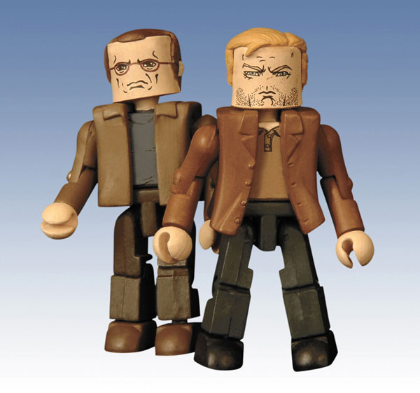 Image: 24 Minimates: 'End of Day' Jack & Andre Drazen PX 2-Pack  -