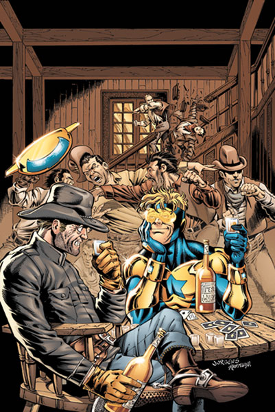Image: Booster Gold #3 - DC Comics
