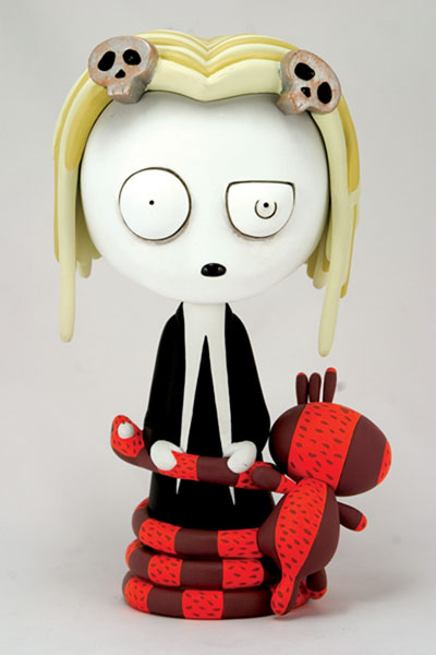 Image: Lenore Vinyl Figure  - Amaze Ink/Slave Labor Graphics
