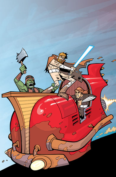 Image: Star Wars: Clone Wars Adventures Vol. 10 SC  - Dark Horse