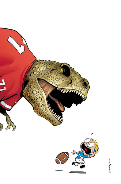 Image: Franklin Richards: Fall Football Fiasco! #1 - Marvel Comics