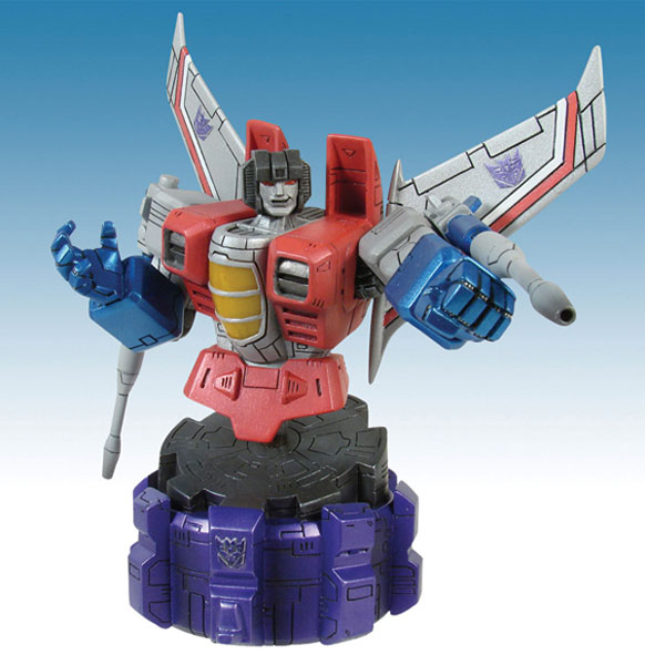 Image: Transformers Bust: Starscream  -