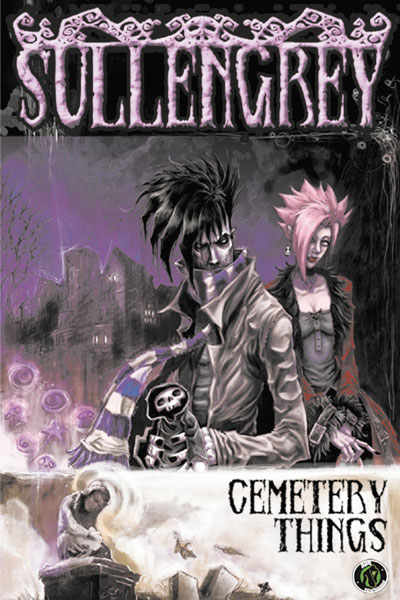 Image: Sullengrey Vol. 01: Cemetery Things SC #1 - Ape Entertainment