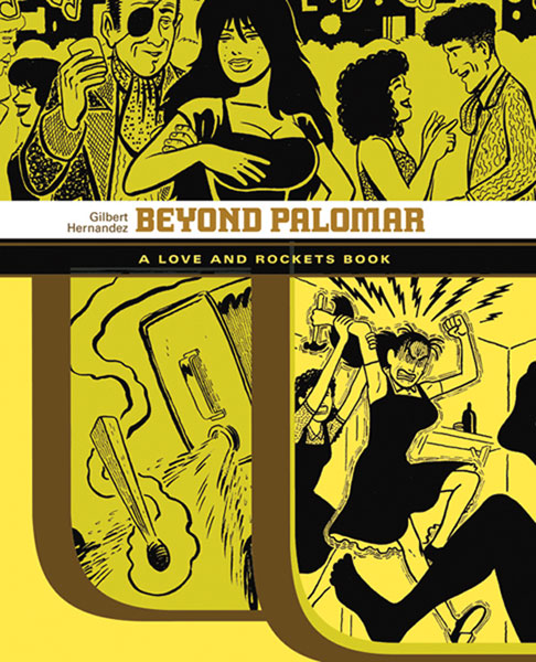 Image: Beyond Palomar: A Love and Rockets Book SC  - Fantagraphics Books