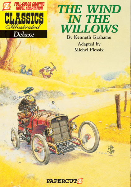 Image: Classics Illustrated Deluxe Graphic Novel #1: The Wind in the Willows HC  - Papercutz