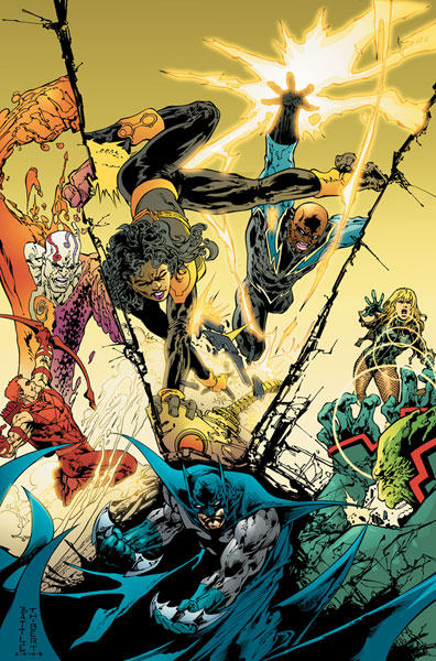 Image: Batman and the Outsiders #3 - DC Comics