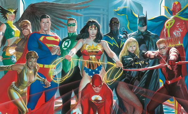 Image: Justice League of America: Heroes Poster  -
