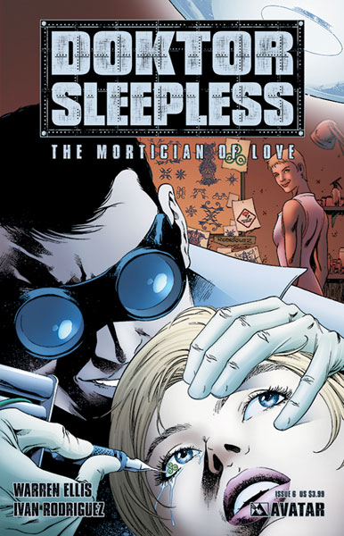 Image: Doktor Sleepless #6 - Avatar Press Inc