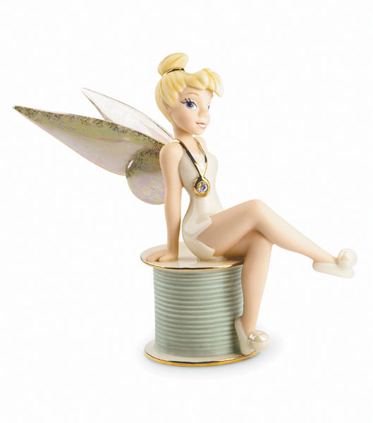 Image: Lenox Classics: Tinker Bell 'Pixies Perfection' Figurine  -