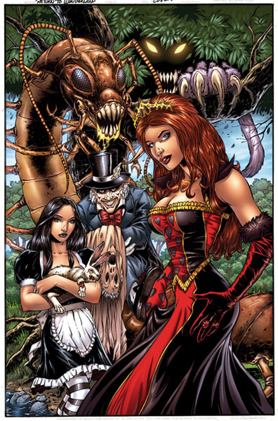Image: Return to Wonderland HC  - Zenescope Entertainment Inc