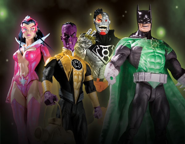 Image: Green Lantern Series 3 Action Figure: Star Sapphire  -