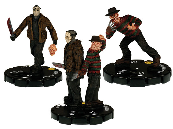 Image: Horrorclix Seven Figure Action Pack: Freddy vs. Jason  -
