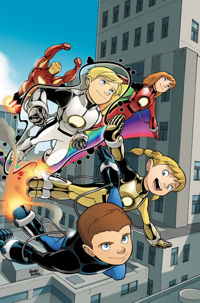 Image: Iron Man and Power Pack #4 - Marvel Comics