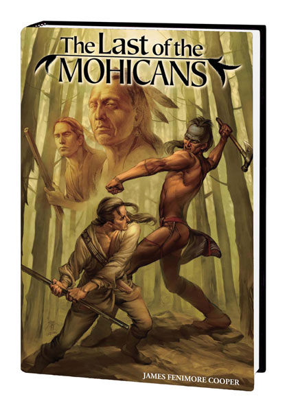 Image: Marvel Illustrated: The Last of the Mohicans HC  - Marvel Comics