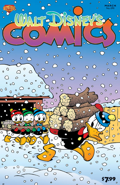 Image: Walt Disneys Comics & Stories #690 - Gemstone Publishing