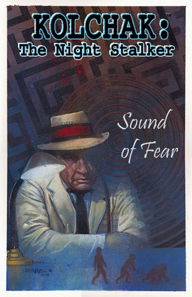 Image: Kolchak the Night Stalker: Sound of Fear SC  - Moonstone