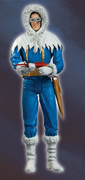 Image: Justice Series 8 Action Figure: Captain Cold  -