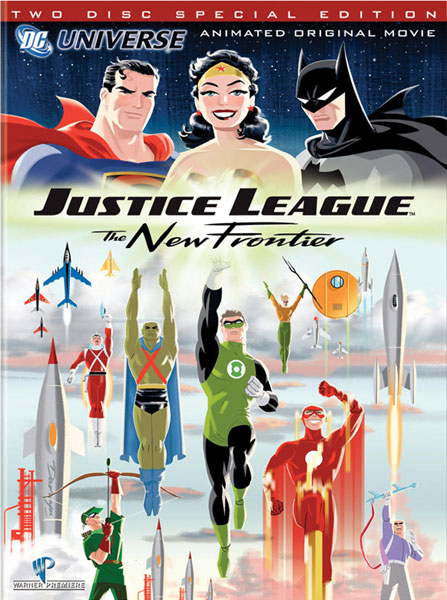 Image: Justice League: The New Frontier Animated Movie - Special Edition  (DVD) -