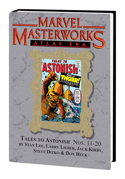 Image: Marvel Masterworks Vol. 94: Atlas Era Tales to Astonish Nos. 11-20  (var.hc) - Marvel Comics
