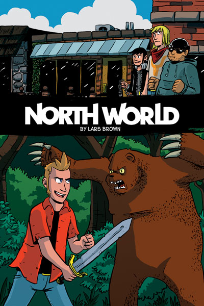 Image: North World Vol. 01 SC  - Oni Press Inc.