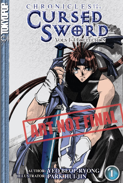 Image: Chronicles of the Cursed Sword Vol. 1-3 Omnibus SC  - Tokyopop