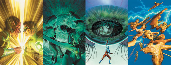 Image: Comic Book Cover Portfolio No. 2: The Justice Cover Collection  -