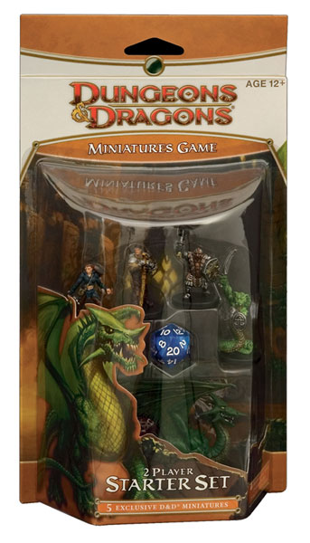 Image: Dungeons & Dragons Miniatures Game: 2-Player Starter Set  - Wizards of the Coast
