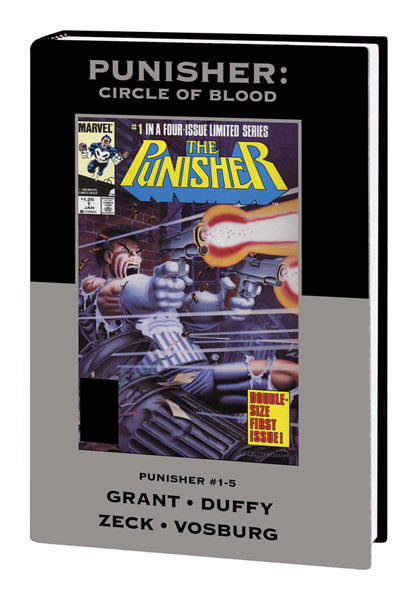 Image: Marvel Premiere Classics Vol. 11: Punisher: Circle of Blood HC  - Marvel Comics