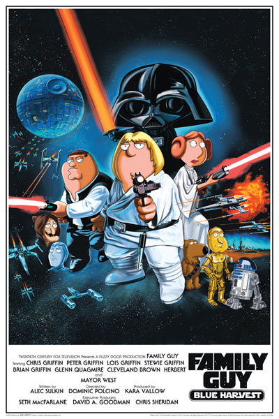 Image: Family Guy Blue Harvest Poster  -