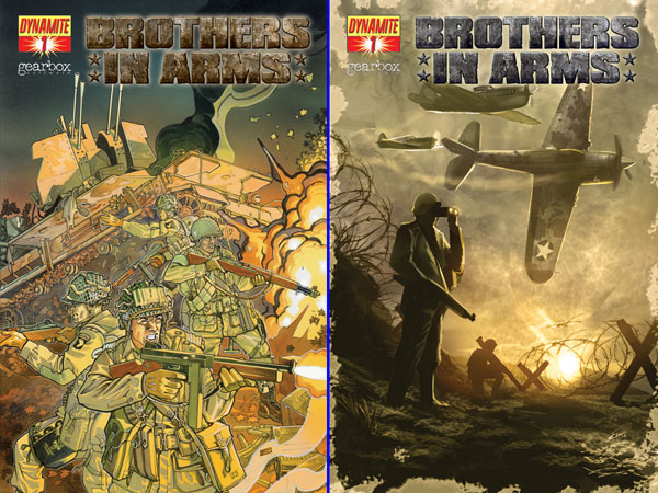 Image: Brothers in Arms #1 - D. E./Dynamite Entertainment