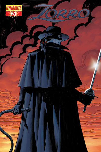 Image: Zorro #3 (Matt Wagner cover) - D. E./Dynamite Entertainment