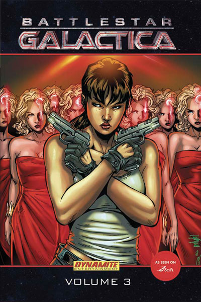 Image: Battlestar Galactica Vol. 03 HC  - D. E./Dynamite Entertainment