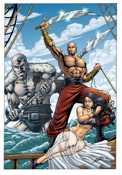 Image: 1001 Arabian Nights: Adventures of Sinbad #0 - Zenescope Entertainment Inc