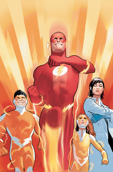 Image: Flash: The Wild Wests HC  - DC Comics