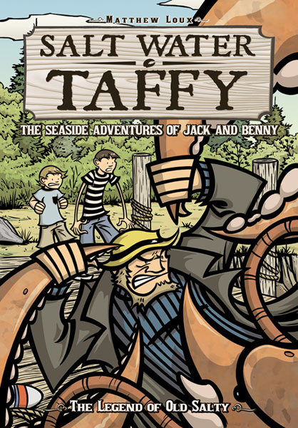 Image: Salt Water Taffy Vol. 01: Legend of Old Salty SC  - Oni Press Inc.